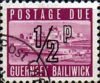 Guernsey 1971 Decimal Post Due SG D  8 Fine Used