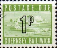 Guernsey 1971 Decimal Post Due SG D  9 Fine Used
