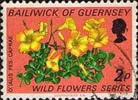 Guernsey 1972 Wild Flowers SG 72 Fine Used