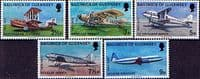 Guernsey 1973 Air Service Set Fine Mint