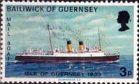 Guernsey 1973 Mail Packet Boats SG 81 Isle of Guernsey Fine Mint