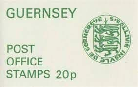 Guernsey 1974 Green Cover Military Uniforms Booklet SB 15 Fine Mint