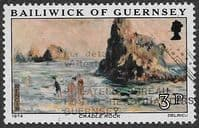 Guernsey 1974 Renoir Paintings SG 118 Fine Used