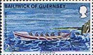Guernsey 1974 Royal National Lifeboat Institution Boats SG 94 Fine Used