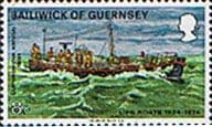 Guernsey 1974 Royal National Lifeboat Institution Boats SG 96 Fine Mint