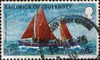 Guernsey 1974 Royal National Lifeboat Institution SG 95 Arthur Lionel Fine Used