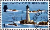 Guernsey 1976 Lighthouses SG 135 Fine Used