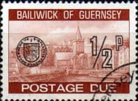 Guernsey 1977 Decimal Post Due SG D 18 Fine Used