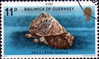 Guernsey 1977 Prehistoric Monuments SG 155 Cist Fine Used