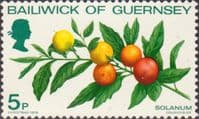 Guernsey 1978 Christmas and Plants SG 173 Fine Mint
