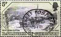 Guernsey 1978 Old Guernsey Prints SG 161 Fine Used