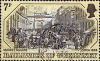 Guernsey 1978 Old Guernsey Prints SG 162 Fine Used