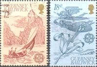 Guernsey 1981 Europa Folklore Set Fine Used