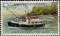 Guernsey 1981 Inter-island Transport SG 240 Fine Used
