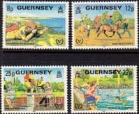 Guernsey 1981 Year for Disabled Persons Set Fine Mint
