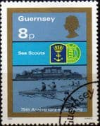 Guernsey 1982 Boy Scout Movement SG 259 Sea Scouts Fine Used