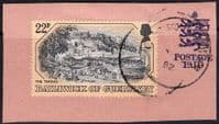 Guernsey 1982 Old Guernsey Prints SG 251 Fine Used Tied