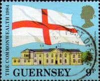 Guernsey 1984 Links with the Commonwealth SG 294 Fine Used