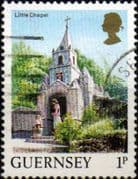 Guernsey 1984 Views SG 296 Little Chapel Fine Used
