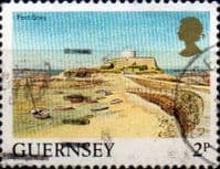Guernsey 1984 Views SG 297 Fort Grey Fine Used