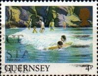 Guernsey 1984 Views SG 299 Petit Port Fine Used