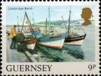 Guernsey 1984 Views SG 304  New Jetty Fine Mint