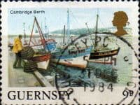 Guernsey 1984 Views SG 304  New Jetty Fine Used
