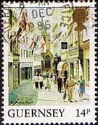Guernsey 1984 Views SG 308 St. Peter Port Fine Used