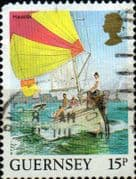 Guernsey 1984 Views SG 309 Havelet Fine Used