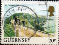 Guernsey 1984 Views SG 310 La Coupee Fine Used