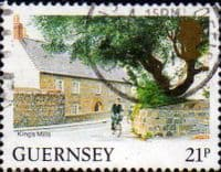 Guernsey 1984 Views SG 310b King's Mills Fine Used