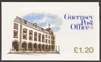 Guernsey 1985 French Halles Booklet SB 29 Fine Mint