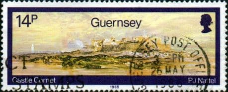 Guernsey 1985 Paintings by Paul Jacob Naftel SG 356 Fine Used