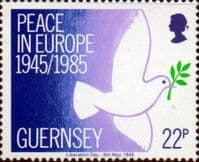 Guernsey 1985 Peace in Europe Fine Mint