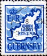 Guernsey 1989 Coil Stamps SG 454 Fine Used