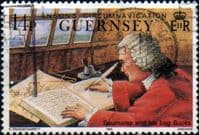 Guernsey 1990 Anson's Circumnavigation SG 496 Fine Used