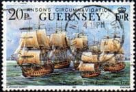 Guernsey 1990 Anson's Circumnavigation SG 497 Fine Used