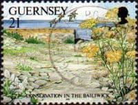 Guernsey 1991 Nature Conservation SG 537 Fine Used