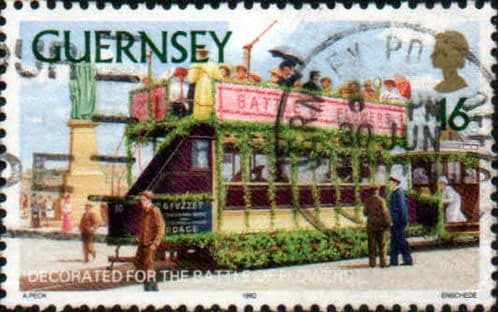 Guernsey 1992 Trams SG 588 Fine Used