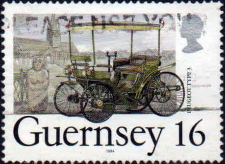 Postage Stamps Guernsey 1991 Nature Conservation Set of 2 Strips SG 530a and 535a Scott 465/6