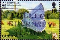 Guernsey 1997 Butterflies and Moths SG 730 Fine Used