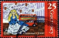 Guernsey 1998  Christmas SG 811  Fine Used