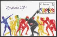 Guernsey 2004 Olympic Games Stamp SM 1049 Sheet Fine Mint