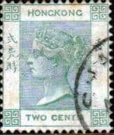 Hong Kong 1900 Queen Victoria SG 56 Fine Used
