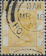 Hong Kong 1900 Queen Victoria SG 58 Fine Used
