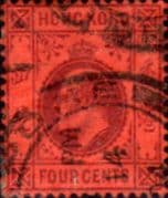 Hong Kong 1904 King Edward VII SG 78 Fine Used