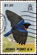 Hong Kong 1988 Birds SG 569 Fine Used