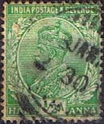 India 1911 King George V SG 156 Fine Used