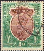 India 1911 King George V SG 186 Fine Used