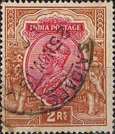India 1911 King George V SG 187 Fine Used